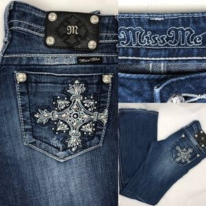 Miss Me Jeans boot cut size 27